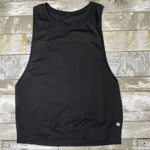 Lululemon breeze by perforated tank top